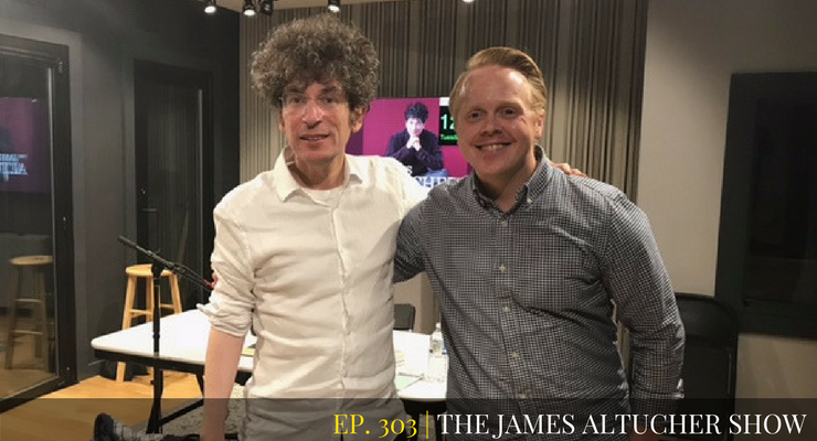 Jeff Goins talks about how Real Artists don't Starve on the James Altucher Show