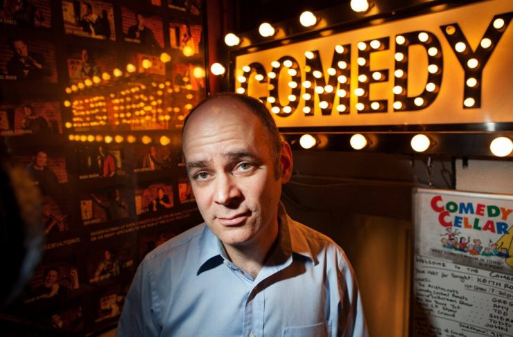 Todd Barry talks to James Altucher about Accidentally becoming a Comedian