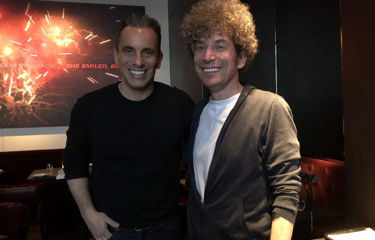 comedian Sebastian Maniscalco gives James Altucher advice on How to Create an Authentic Word of Mouth Career