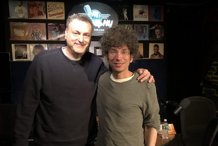 author Robert Kurson at The James Altucher Show discussing the leap of faith everyone needs to take